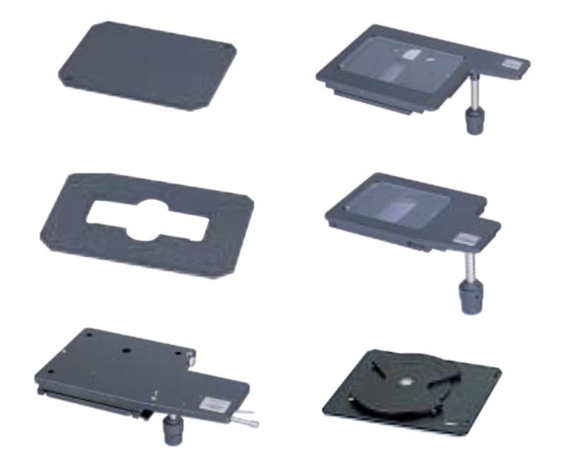Предметные столики для микроскопов