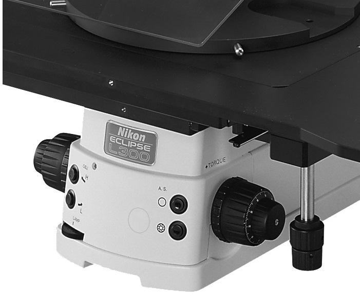 Управление микроскопом Nikon eclipse
