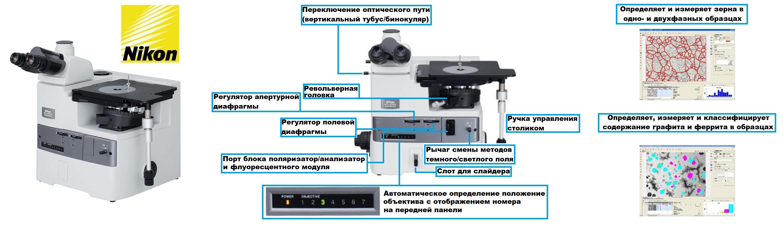 Металлографический микроскоп купить