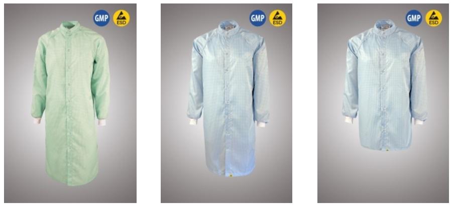 Халаты для чистых помещений