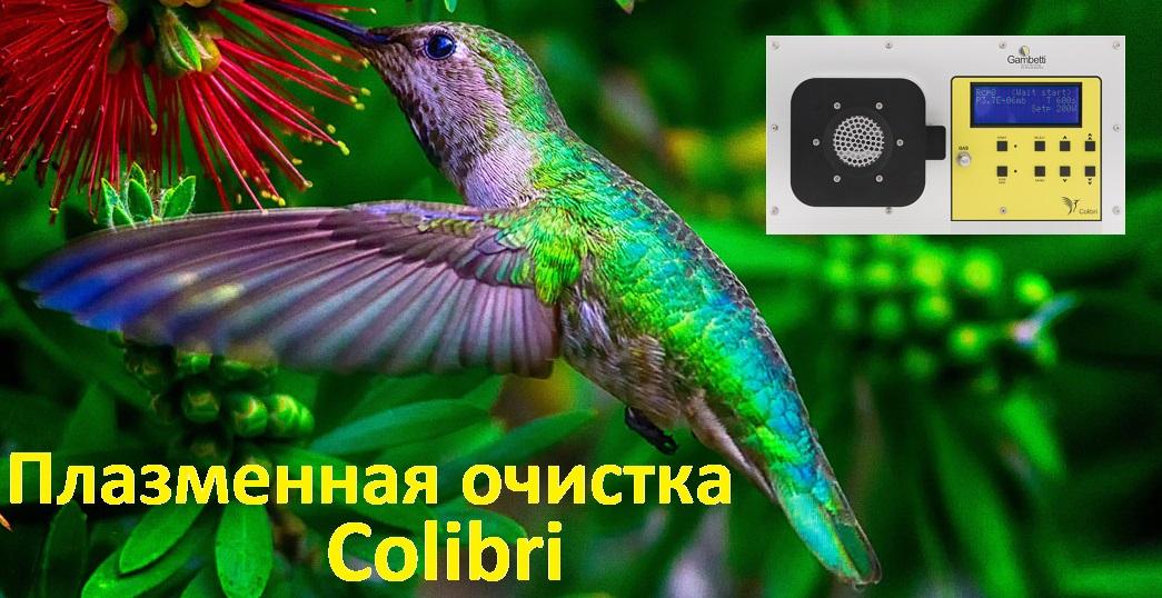 Настольная установка плазменной очистки Colibri