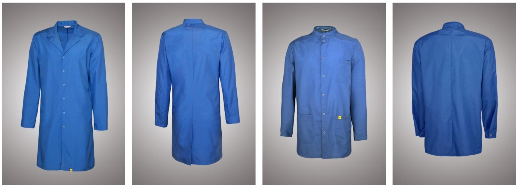 Халаты антистатические синие
