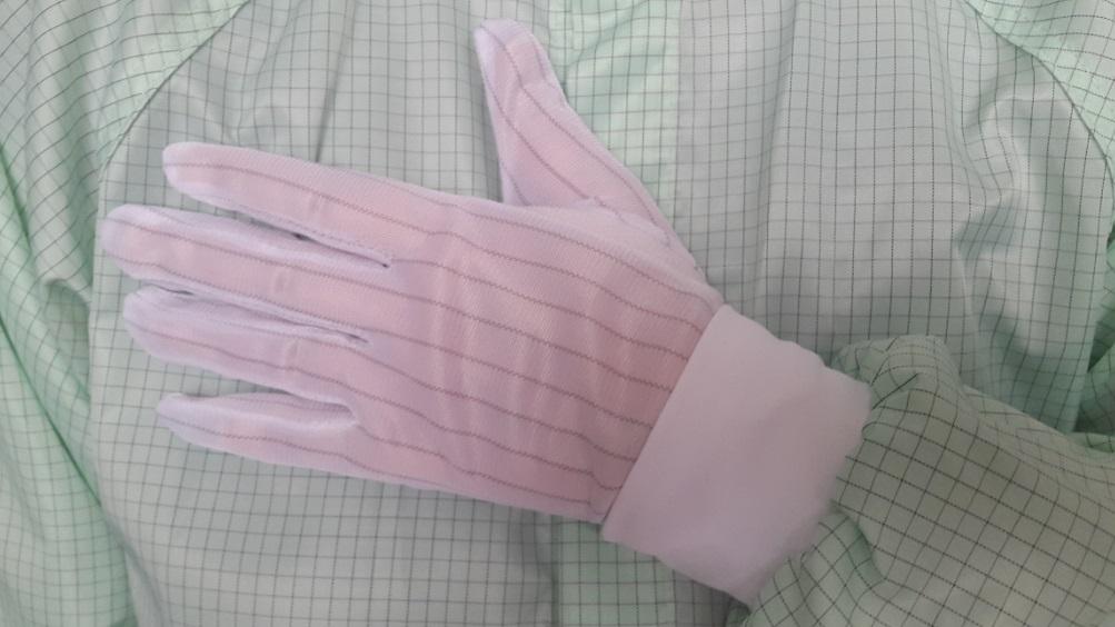 Антистатические перчатки обрезиненные купить