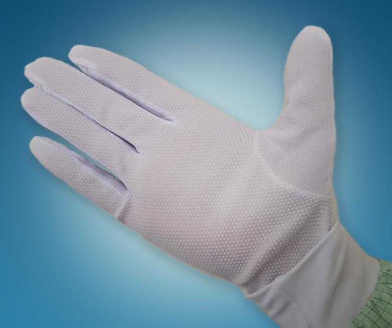 Антистатические перчатки обрезиненные