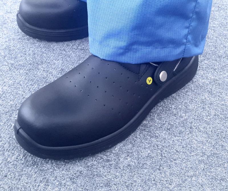 Антистатическая обувь сабо для электронных производств