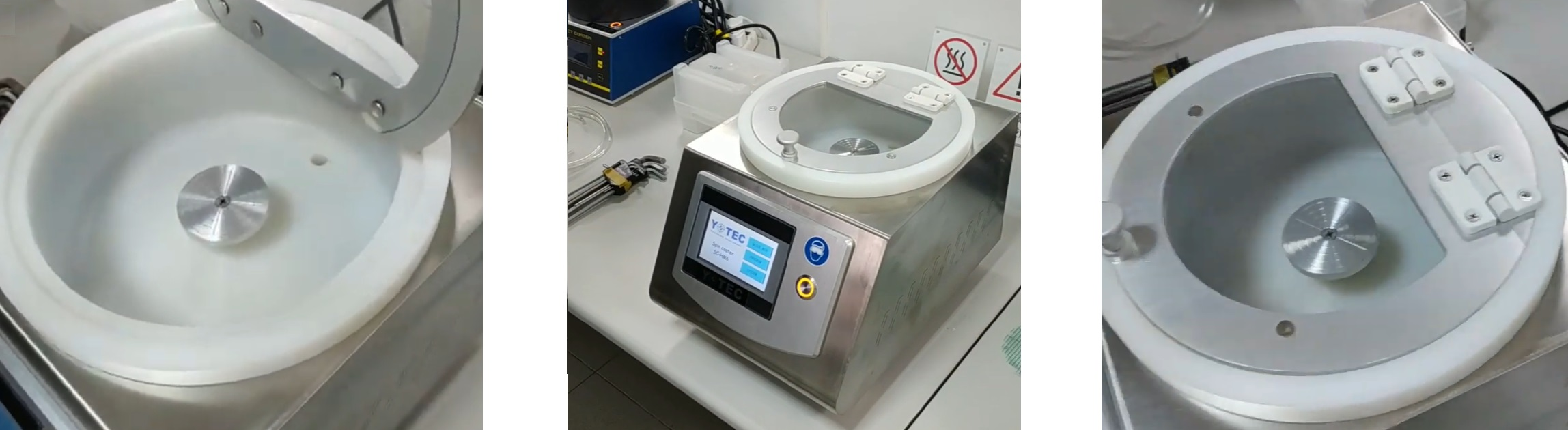 Центрифуга для нанесения фоторезиста asc 100 с дисплеем