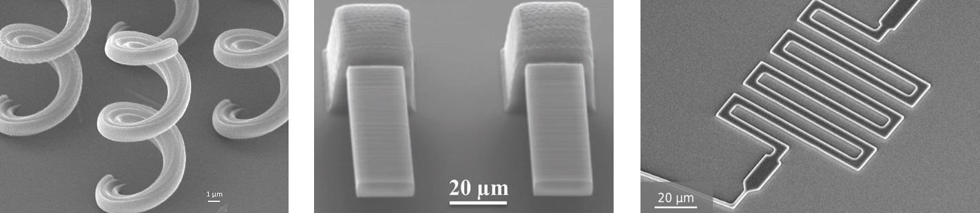 Примеры микроструктур 3d лазерной литографии