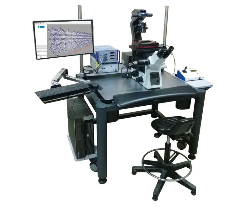 Установка безмасковой лазерной 3d литографии с микроскопом
