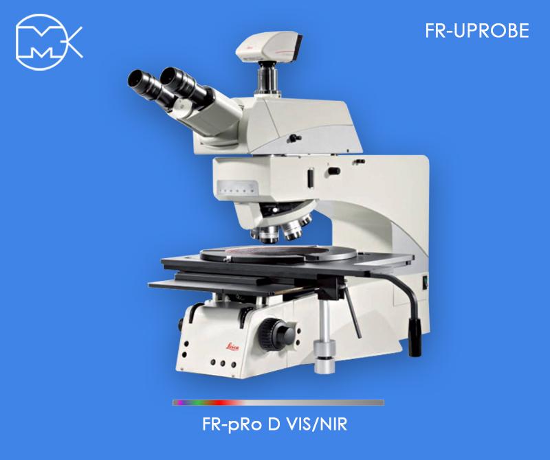 Измеритель толщины тонких пленок и оптических коэффициентов FR-μProbe с микроскопом