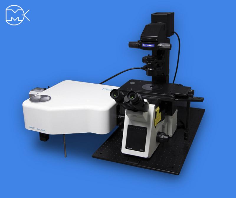 Рамановский инвертированный микроскоп HEDA