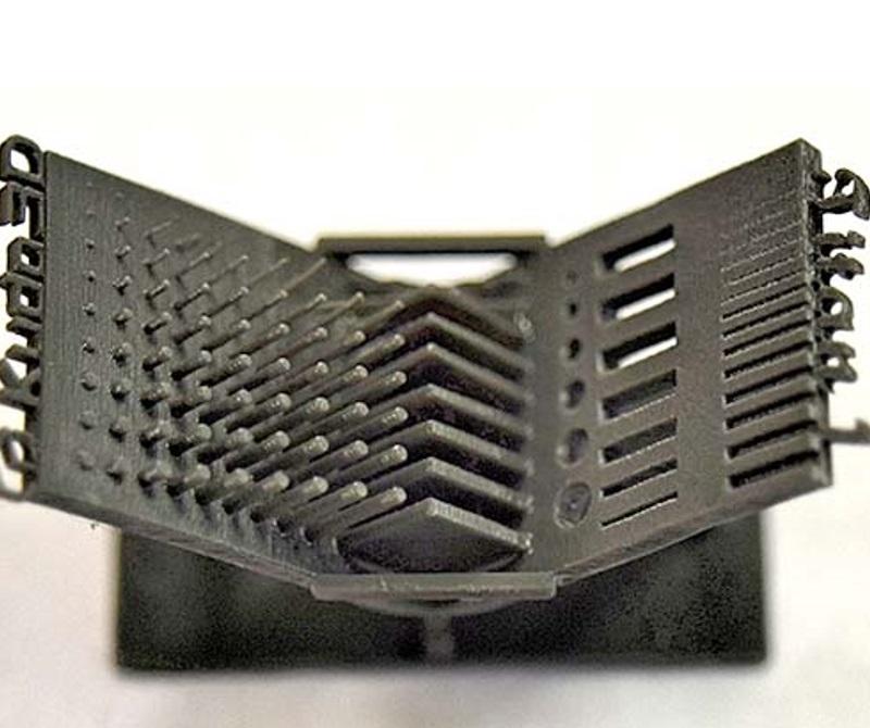 Калибровочный образец на 3d принтере Titan 3